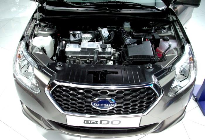 dvigatel Datsun on DO1 Датсун или Рено Логан?