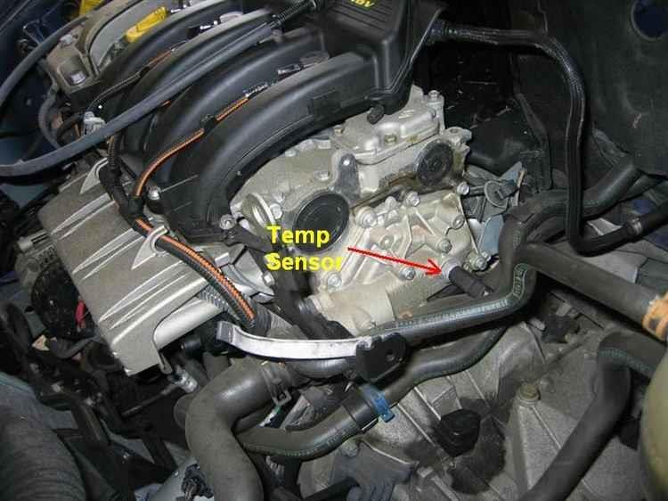 температурный датчик двигателя